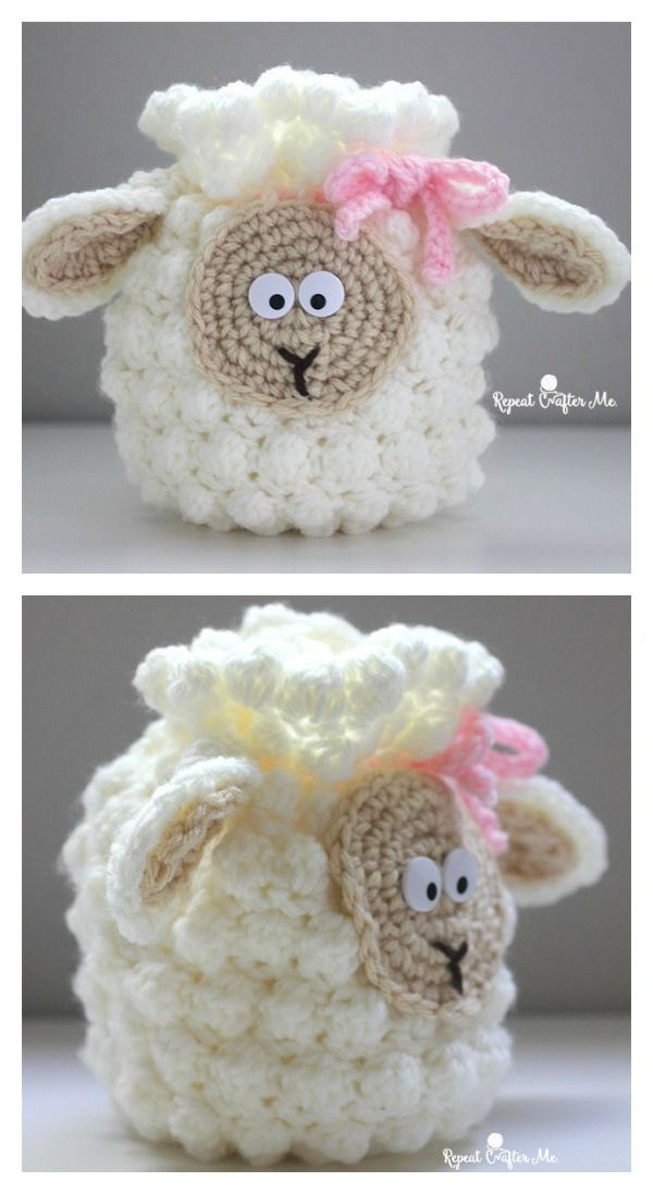 Cute Sheep Bag Free Crochet Pattern | OVEJAS - Manualidades ...