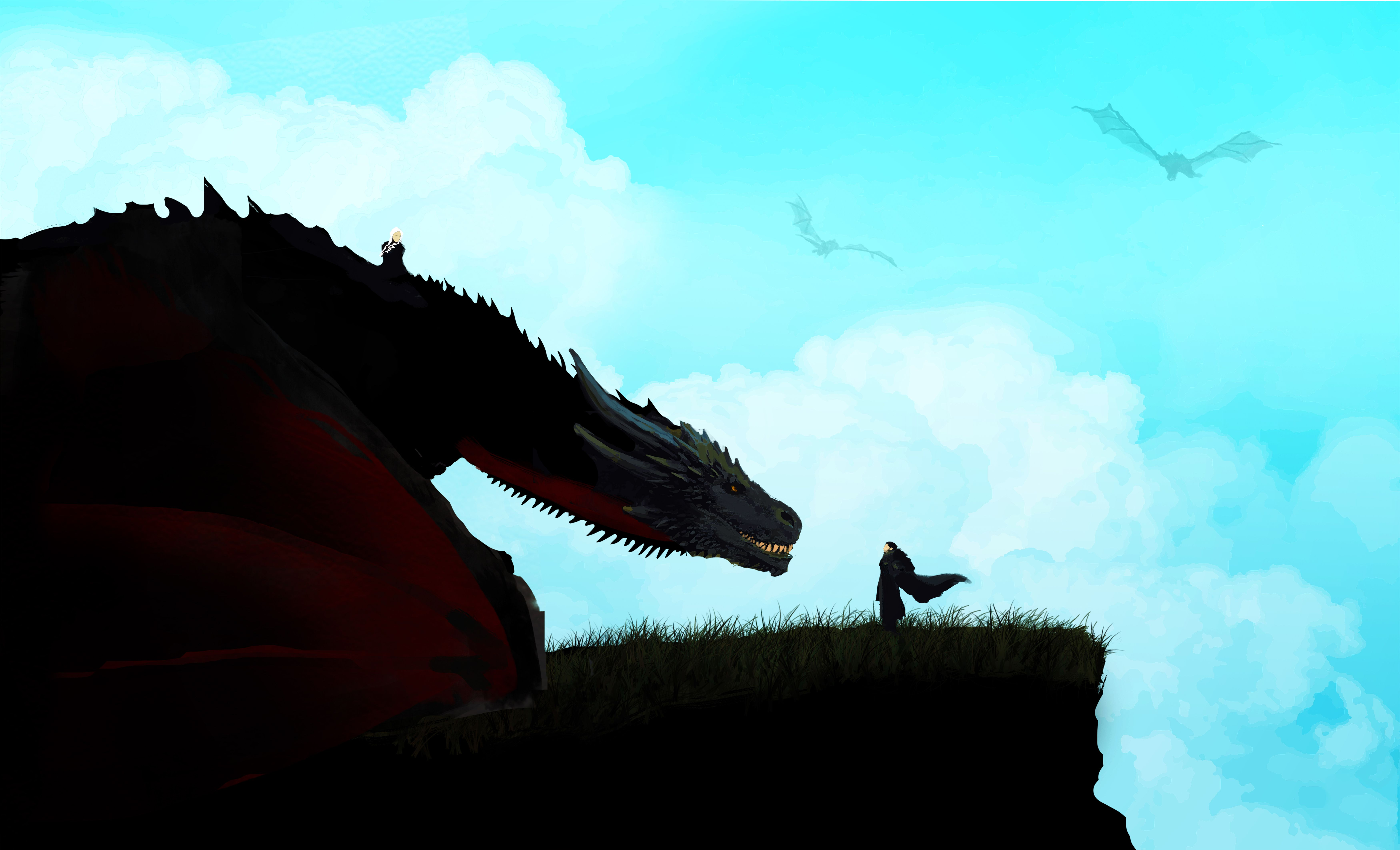 P O S I T I V E V I B E S Game Of Thrones Art Game Of Thrones Cards Dragon Artwork