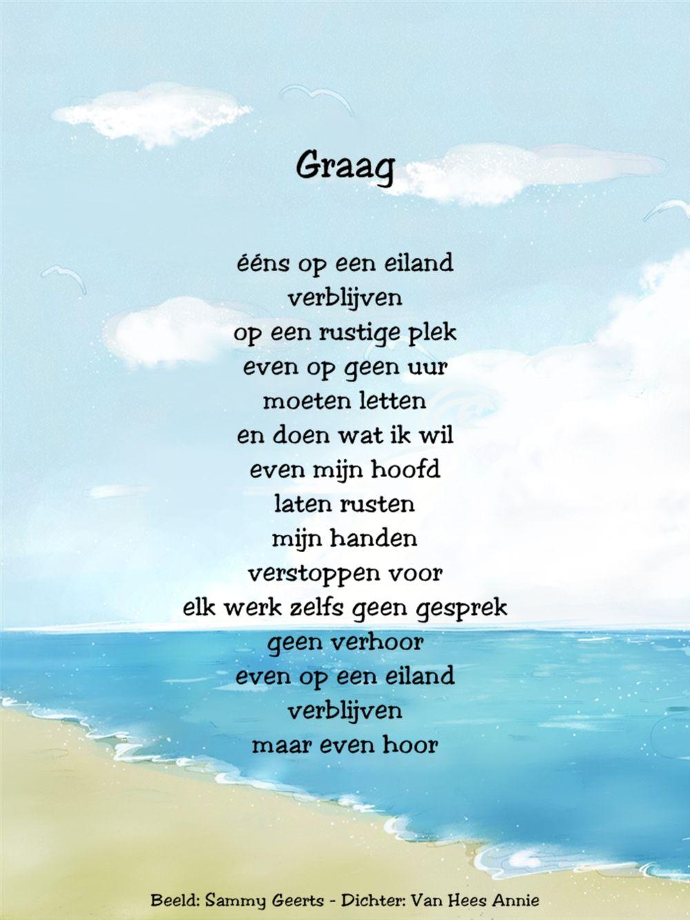 Citaten Annie Xl : Gedicht graag is mijn van hees annie belgi things to