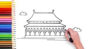 How To Draw Forbidden City Fun Learning Art Therapy Activities Learn To Draw