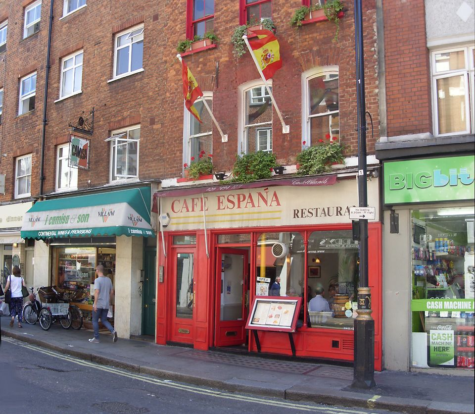 Cafe Espana Spanish Restaurant In London S Soho Spanish Restaurant Soho London Soho Restaurants