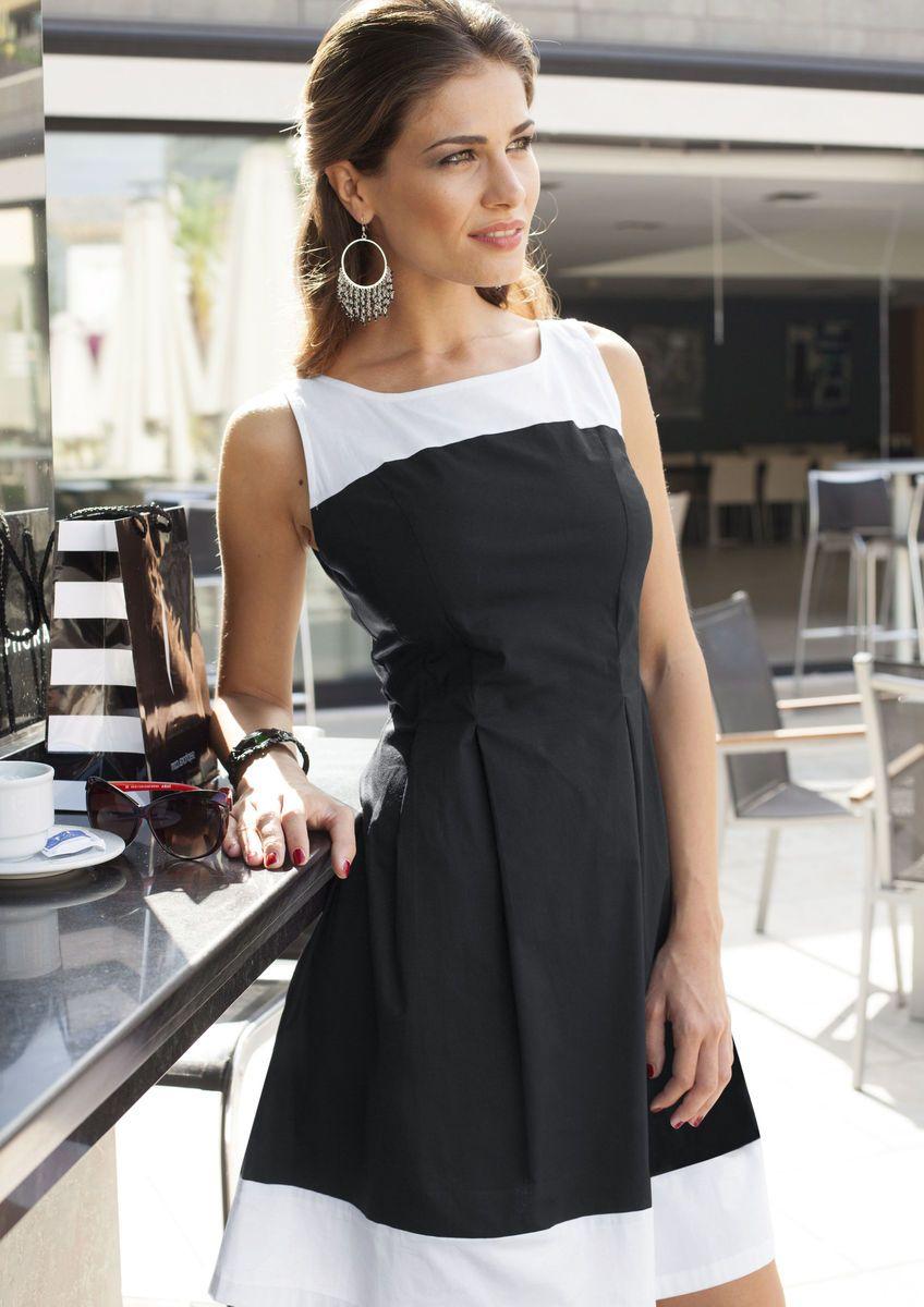 kleid, vivance collection online bestellen | baur | kleider