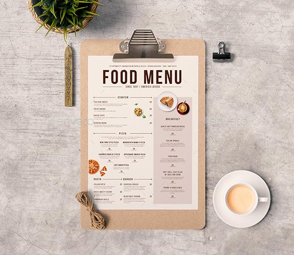 Free Food  Restaurant Menu Templates  Xdesigns  Weightloss