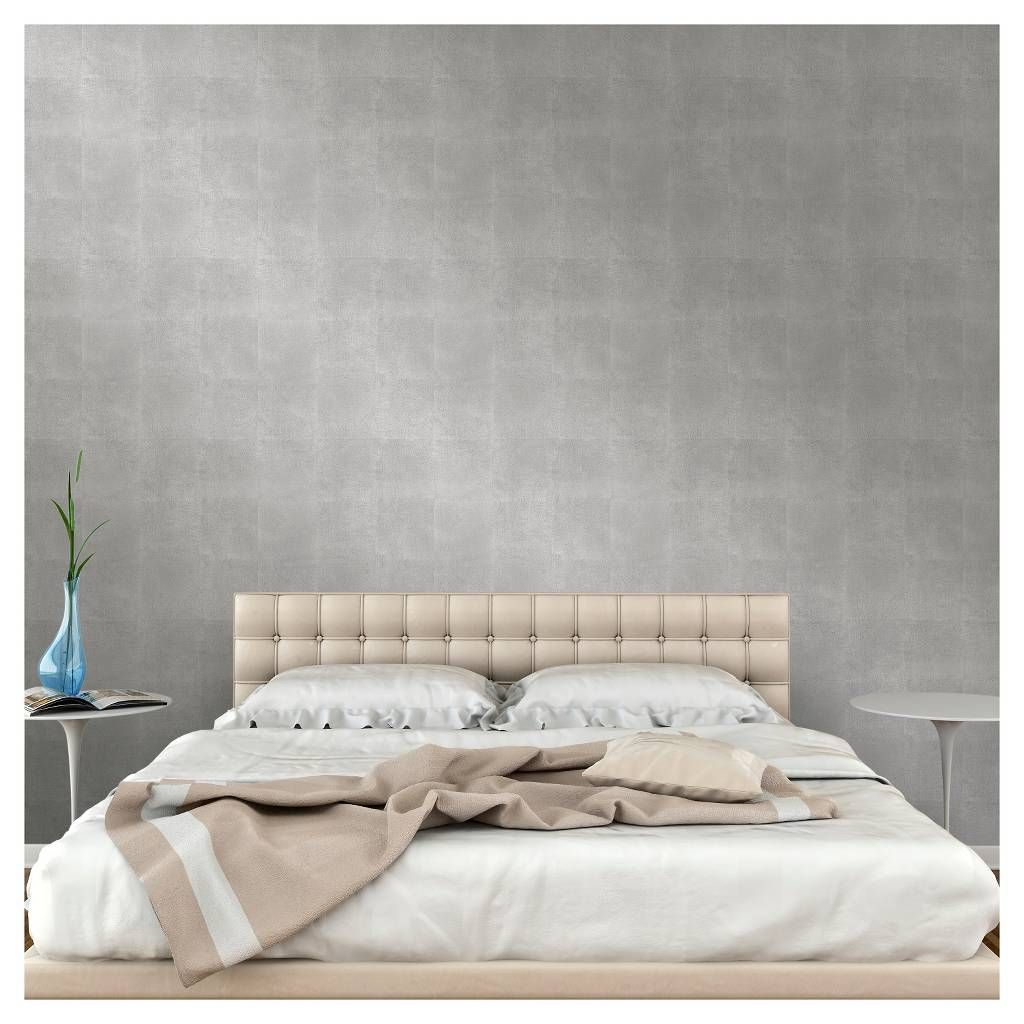 Devine Color Metallic Leaf Peel And Stick Wallpaper Silver Peel And Stick Wallpaper Furniture Metallic Wallpaper