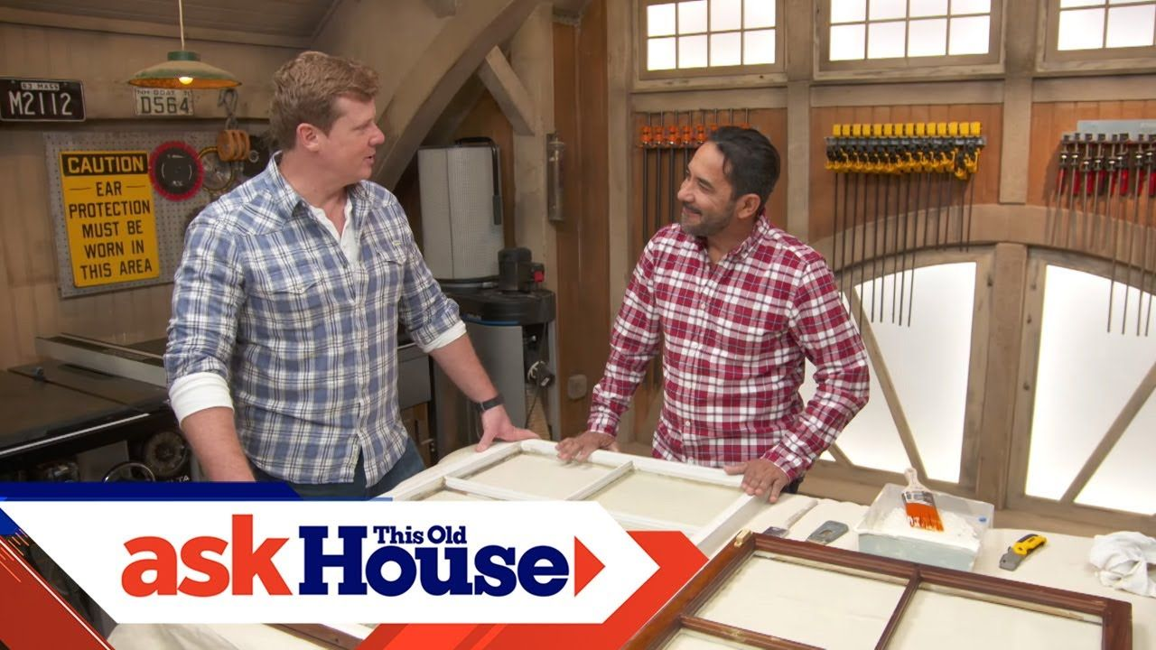 How To Quickly Prime And Paint Windows Ask This Old House Youtube Ask This Old House Host Kevin O Connor Works Wi In 2020 Window Painting Old House Old Houses
