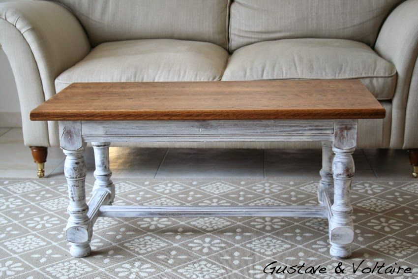 Gustave et Voltaire: Heidi Coffee Table, new version / Table basse nouvelle version