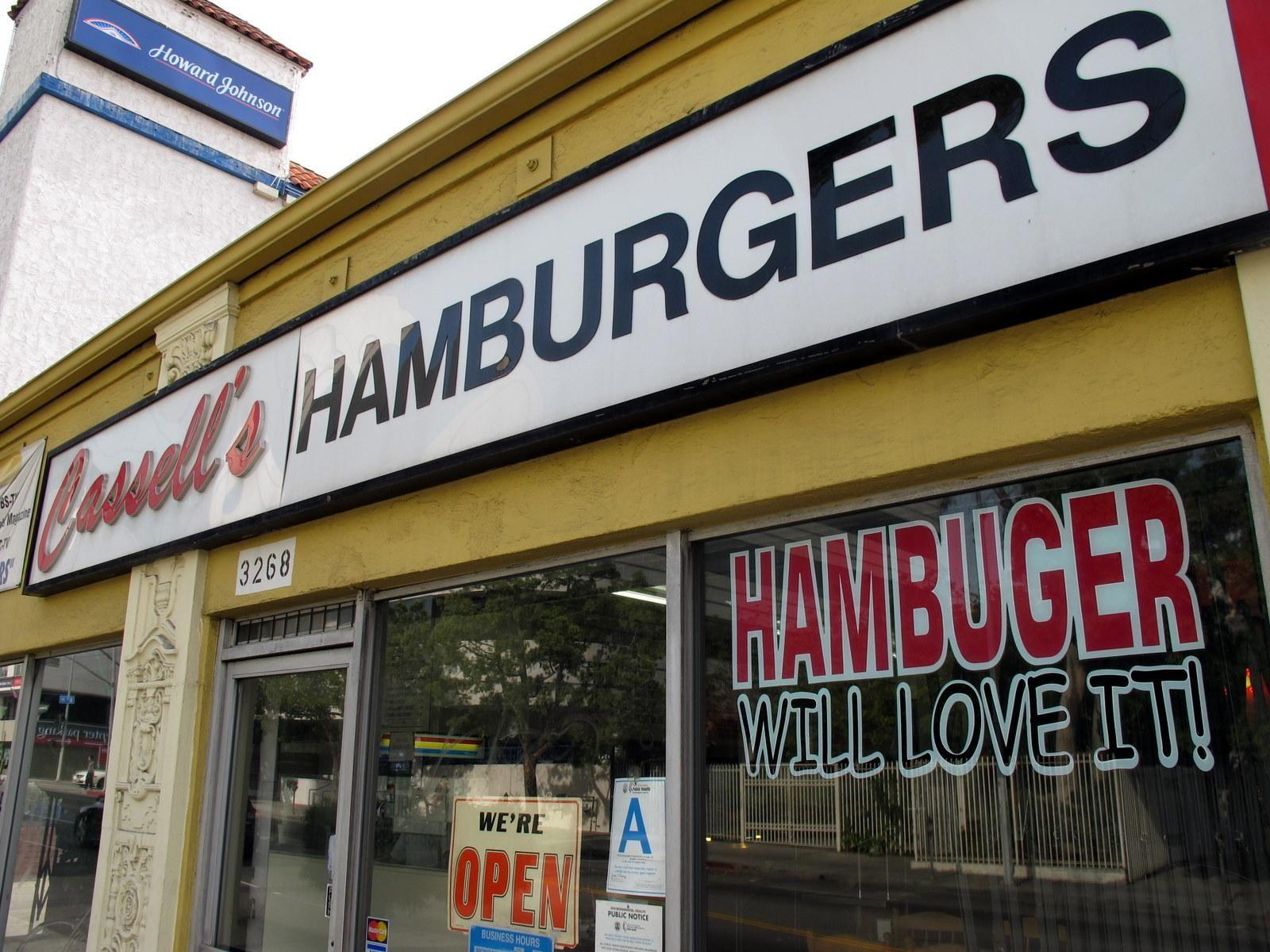 Cassell S Hamburgers Burger Joints Hamburger Resturant