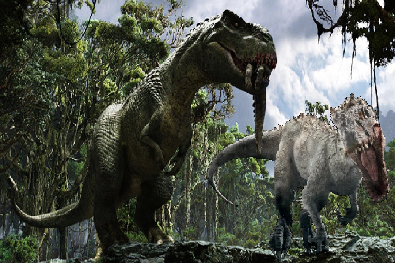 Vastatosaurus Rex vs Indominus Rex Dinosaurios jurassic