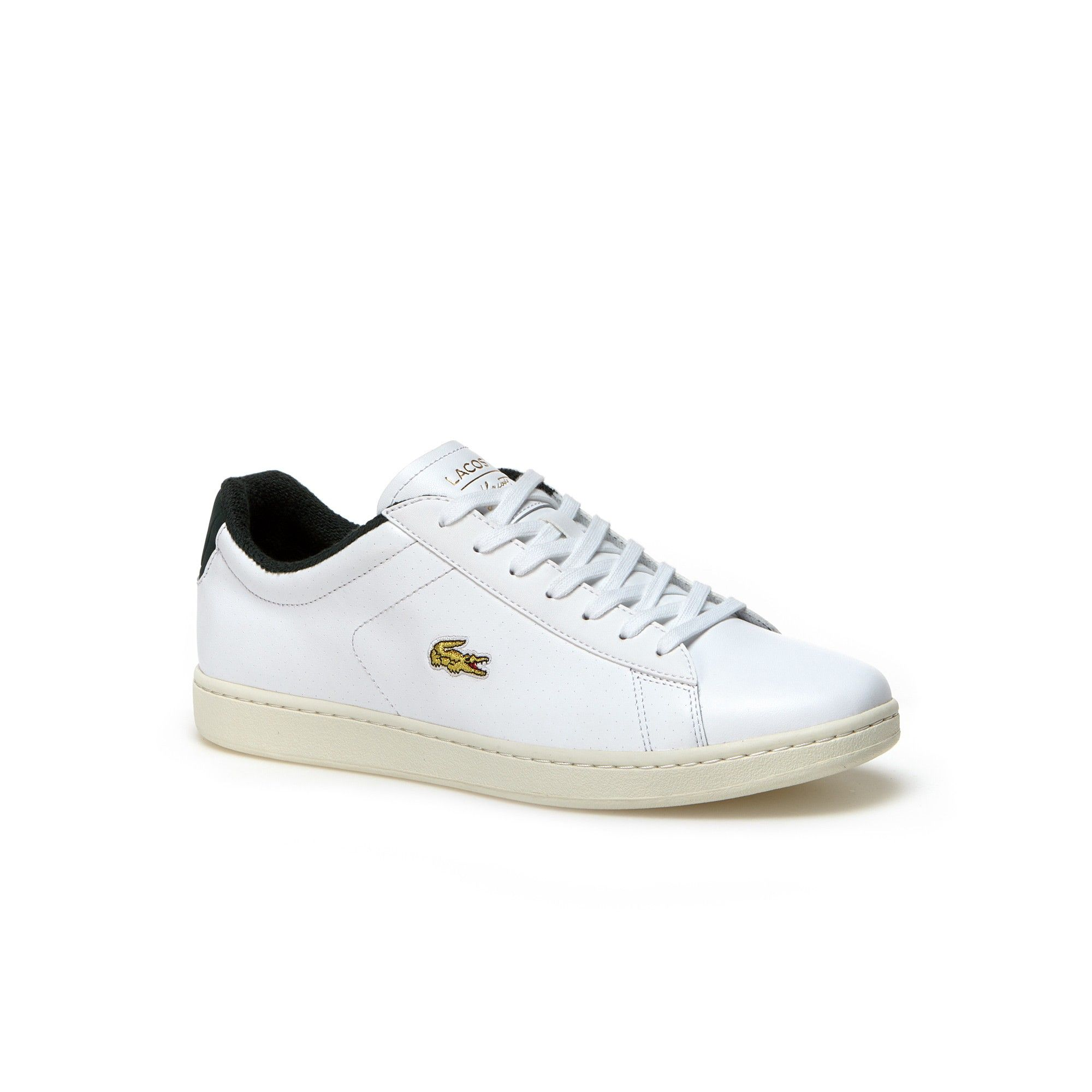 c362bdaa1d00 Lacoste men carnaby evo leather sneakers white green lacoste shoes jpg  2000x2000 Green lacoste shoes
