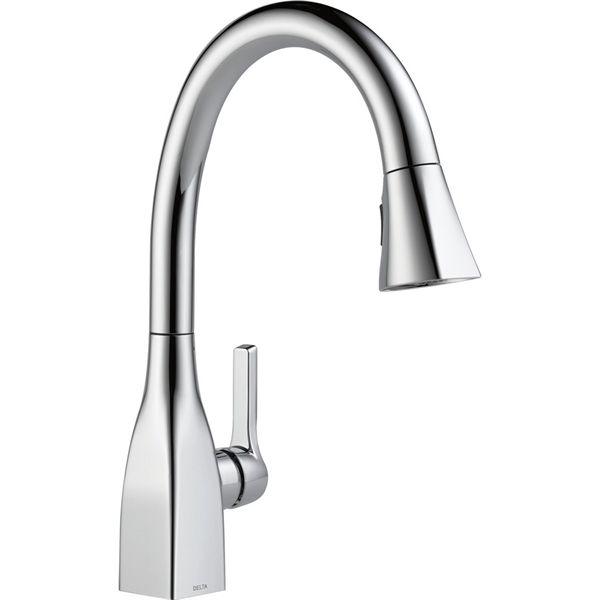 Shop Delta Faucet Delta Mateo Chrome 1 Handle Faucet Type Sink X2f Counter Mount Traditional Kitch Single Handle Kitchen Faucet Kitchen Handles Kitchen Faucet