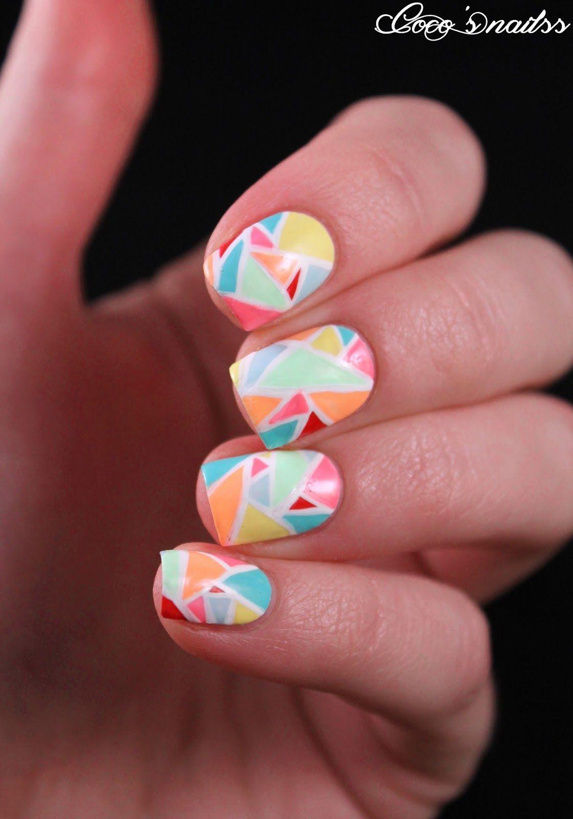 Coco ▲ ▼ ▲ ▲ ▼ ▲'s nails: Carnival