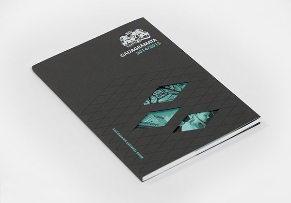 Design Of The First Annual Report For The Oldest Higher Education Institution In Latvia Riga Technica Annual Report Technical University Annual Report Design