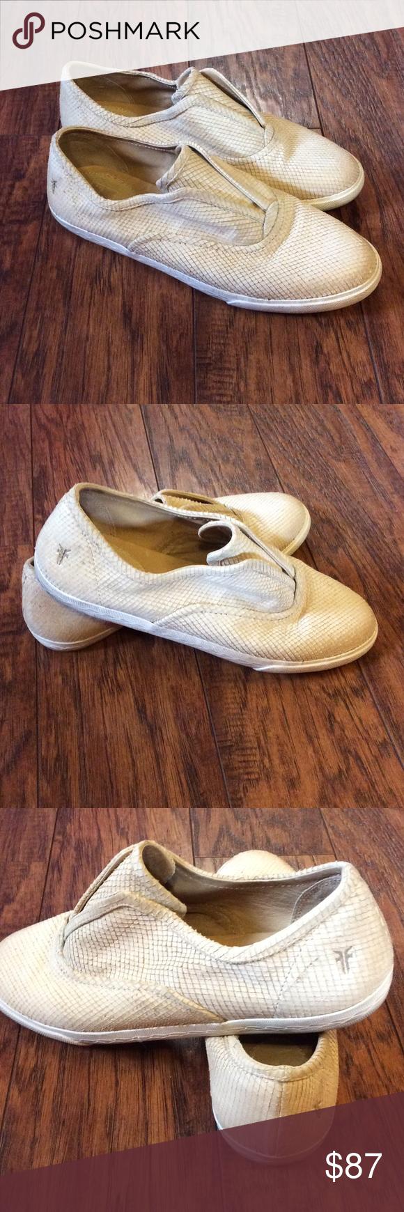 Frye Mindy Slip On Sneaker Frye Slip On Sneaker Left Shoe