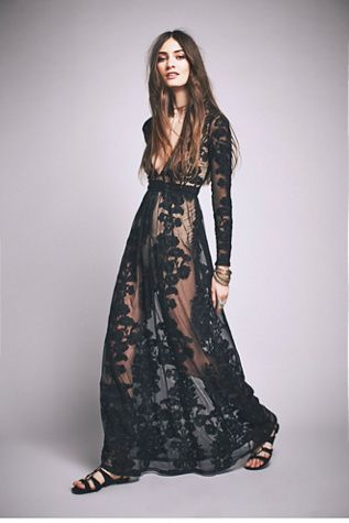 For Love & Lemons Womens TEMECULA MAXI DRESS