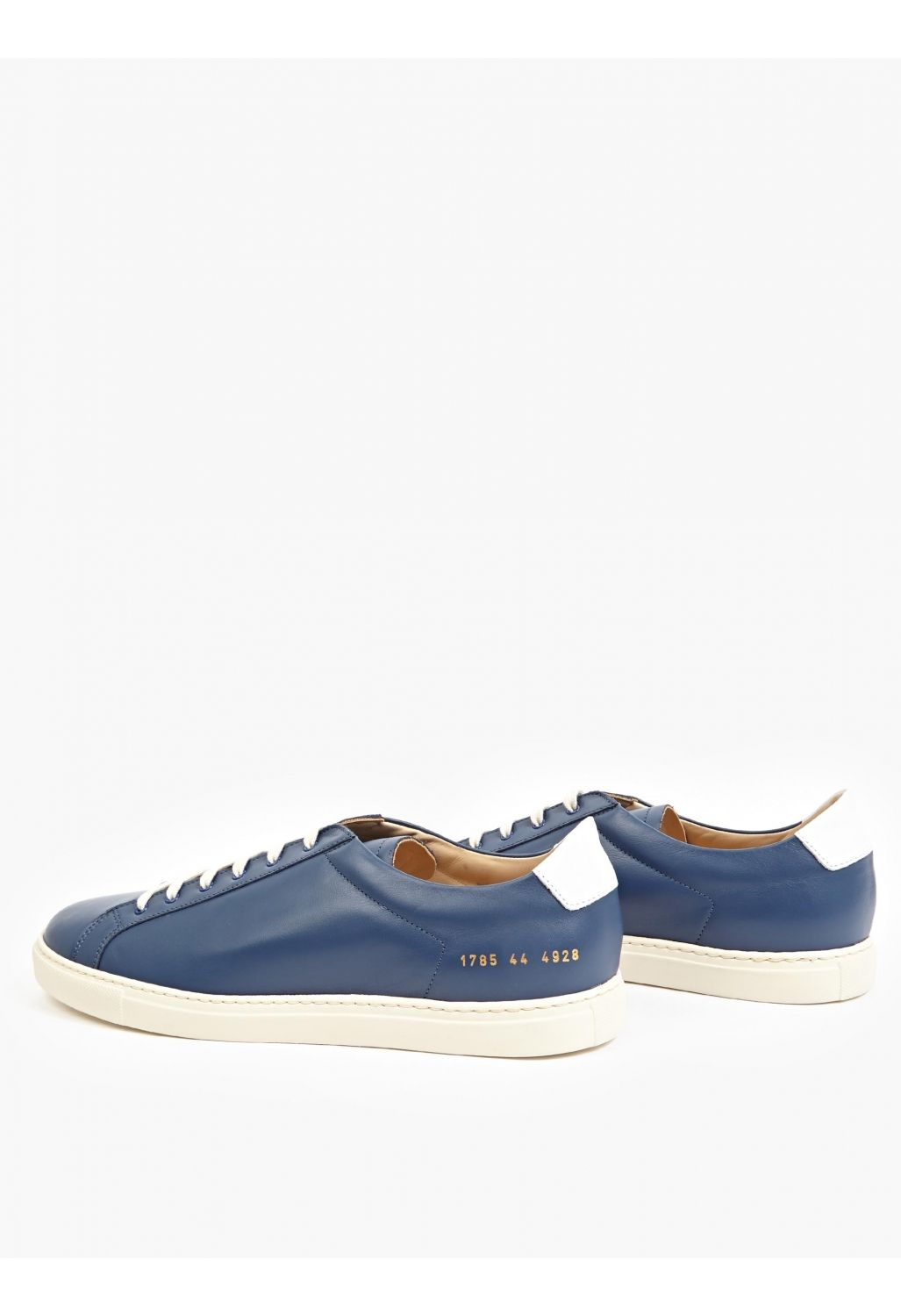 a23152f4a50dfb Summer Love For The Navy  Common Projects Navy Leather Achilles  Sneakers