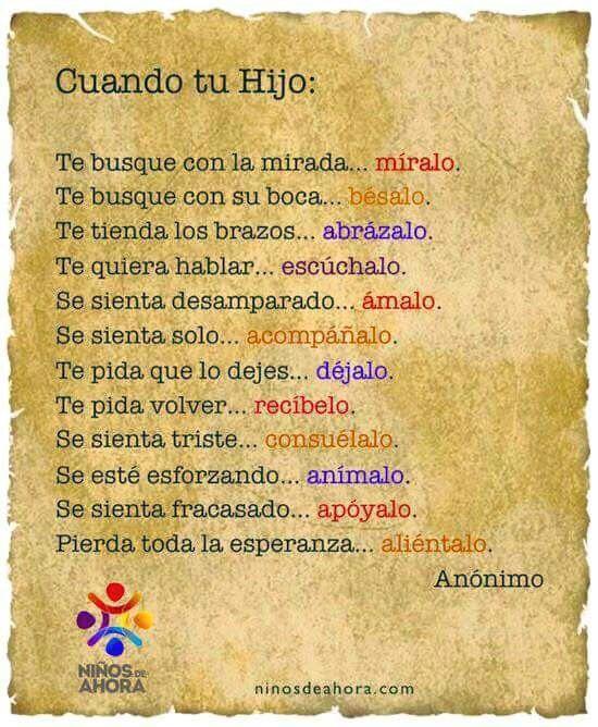 #frases #niños