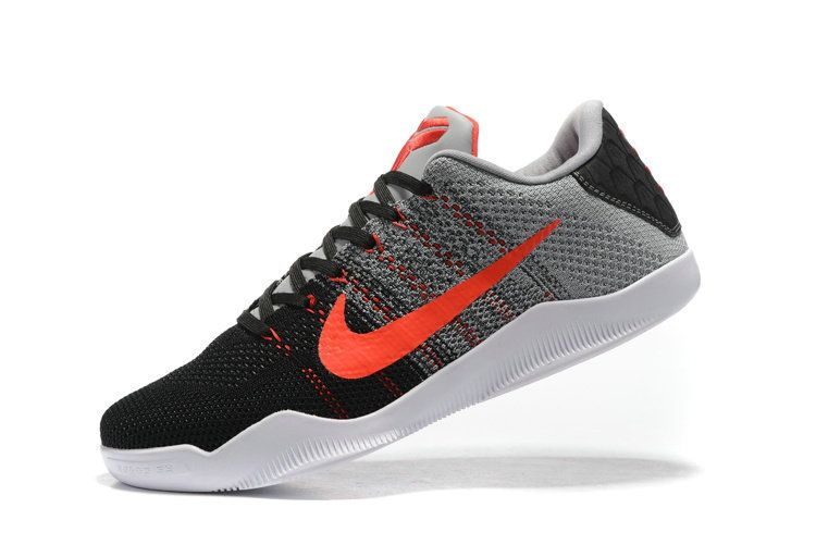 a52c8f14bde0 New Arrival Nike Kobe 11 Parker Muse Tinker 822675-060 Cool Grey University  Red
