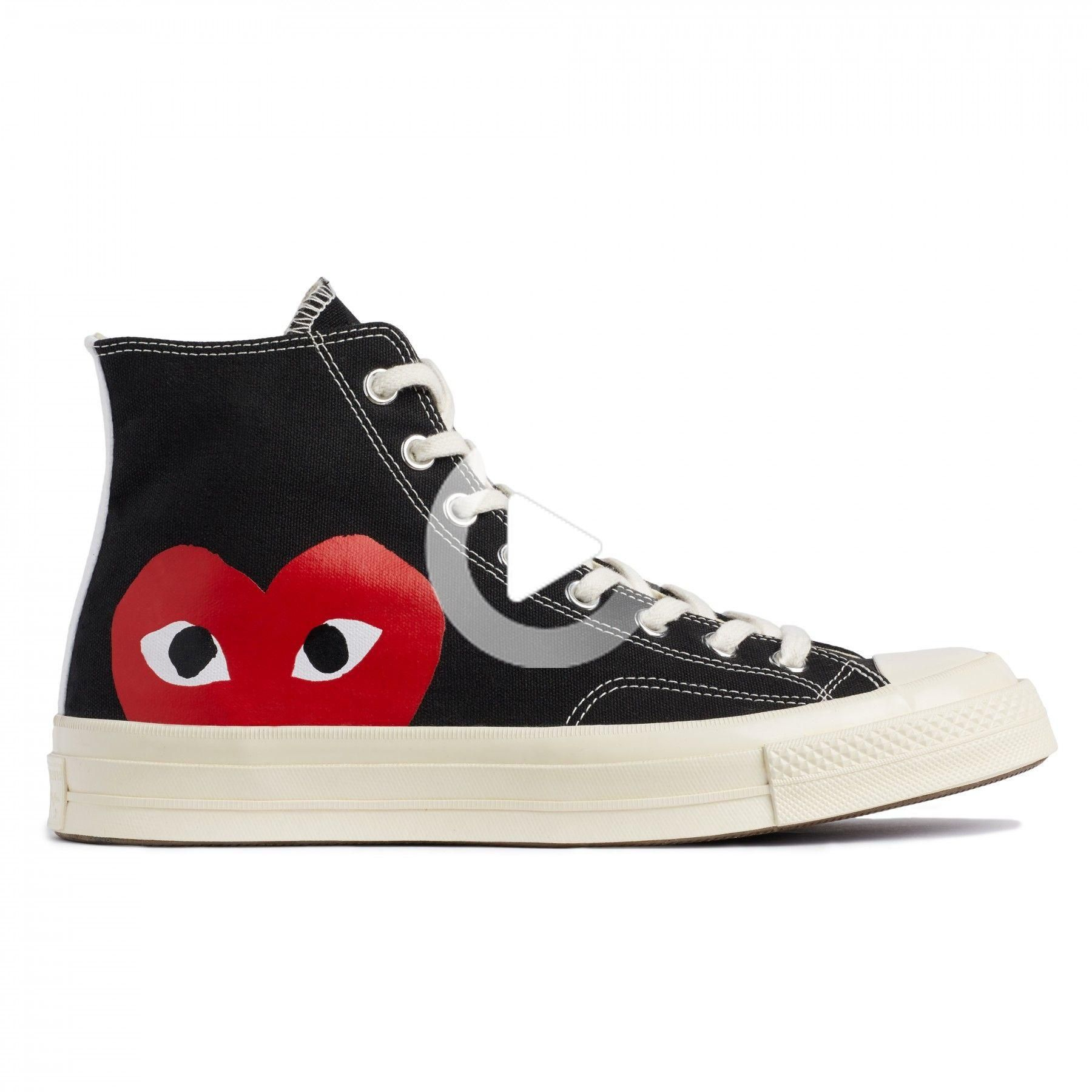Comme Des Garcons Play-X Converse Red