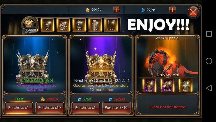 Legacy of Discord Cheats Hack – Free gold and diamonds