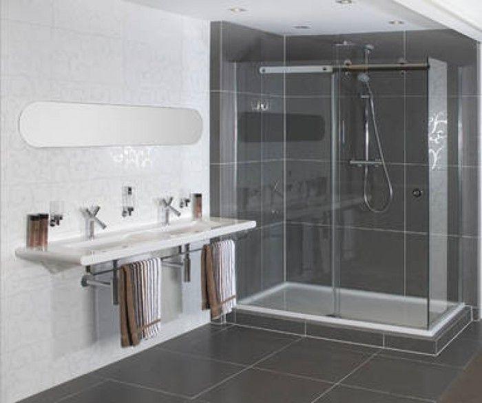 Ikea Badkamer Trolley ~ Badkamer Zwart Wit Tegels Badkamers voorbeelden badkamer ontwerp met