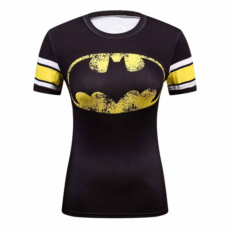 b6ee519745d 2016 Star Wars Cool Avengers Superhero Superman Captain America Casual T  Shirt Women Compression Bodybuilding Shirt