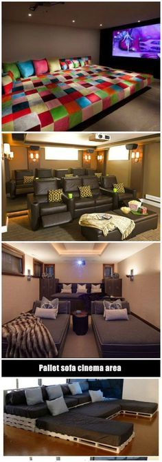 21 Extraordinary Home Theater Design Ideas  Design (With Pictures