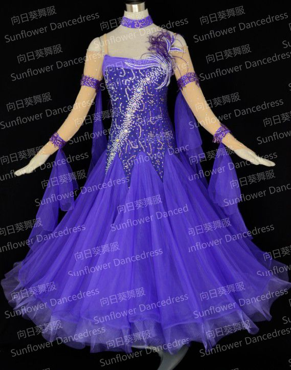 96f37a6049706 Click to Buy << New Style!ballroom Dance Dress,Waltz Competition ...