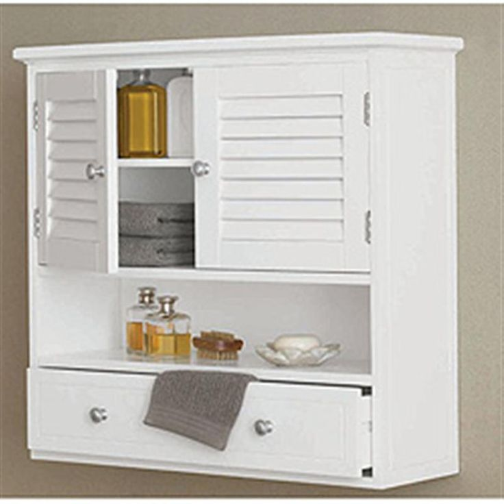 White Wall Cabinet For Bathroom Home Furniture Design