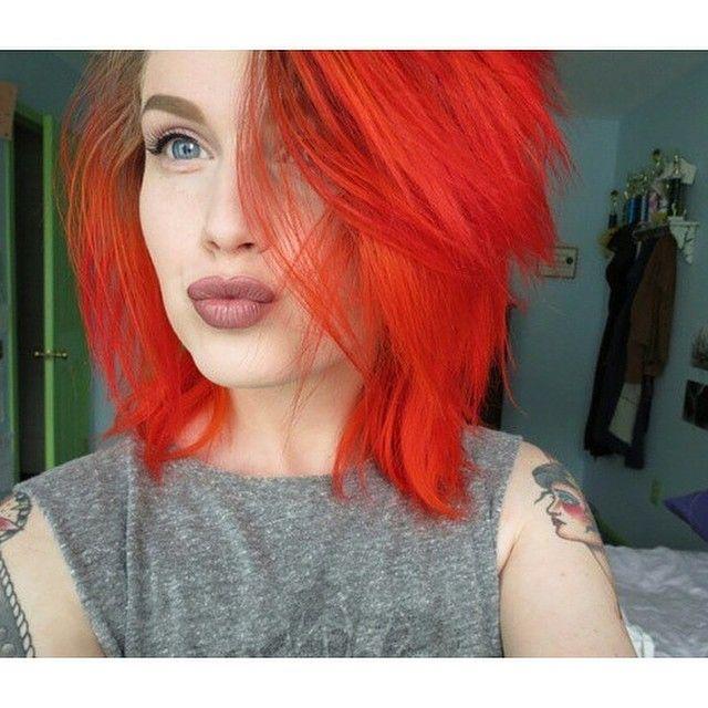 Fierce Color! 🍁❤️🍁 Mermaid: 🚨@embodoe🚨 🐙 #mermaidians 🐙