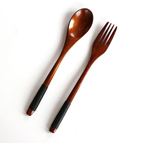 Euonewooden Spoon Bamboo Kitchen Cooking Utensil Tool Soup Teaspoon Catering Black For More Bamboo Cooking Utensils Tableware Wood Kitchen Cooking Utensils
