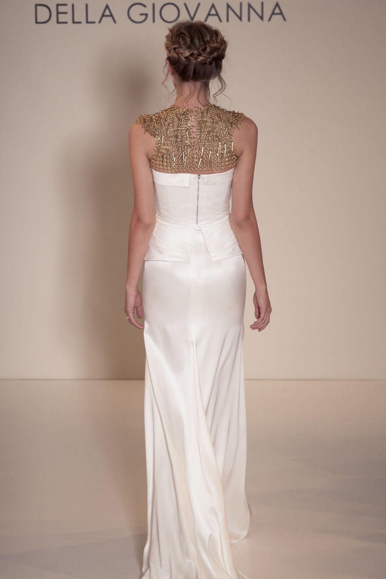 Destination Style - Designer Spotlight: Della Giovanna…Bridal Separates  McAllister Corset, Elizabeth Skirt & Brienne Neckpiece