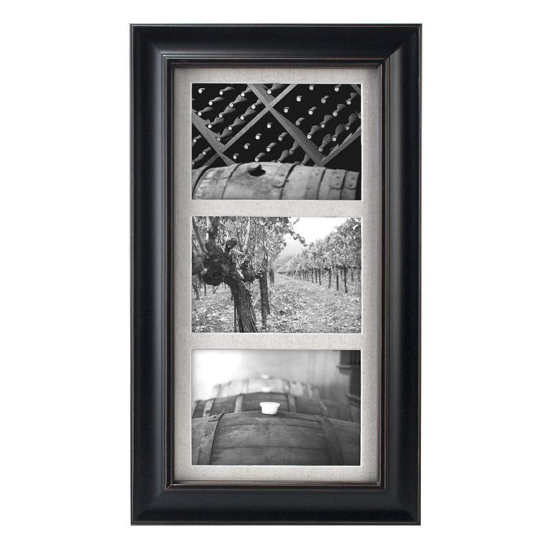 Malden 3 Opening 5 X 7 Barnside Collage Frame Black Products