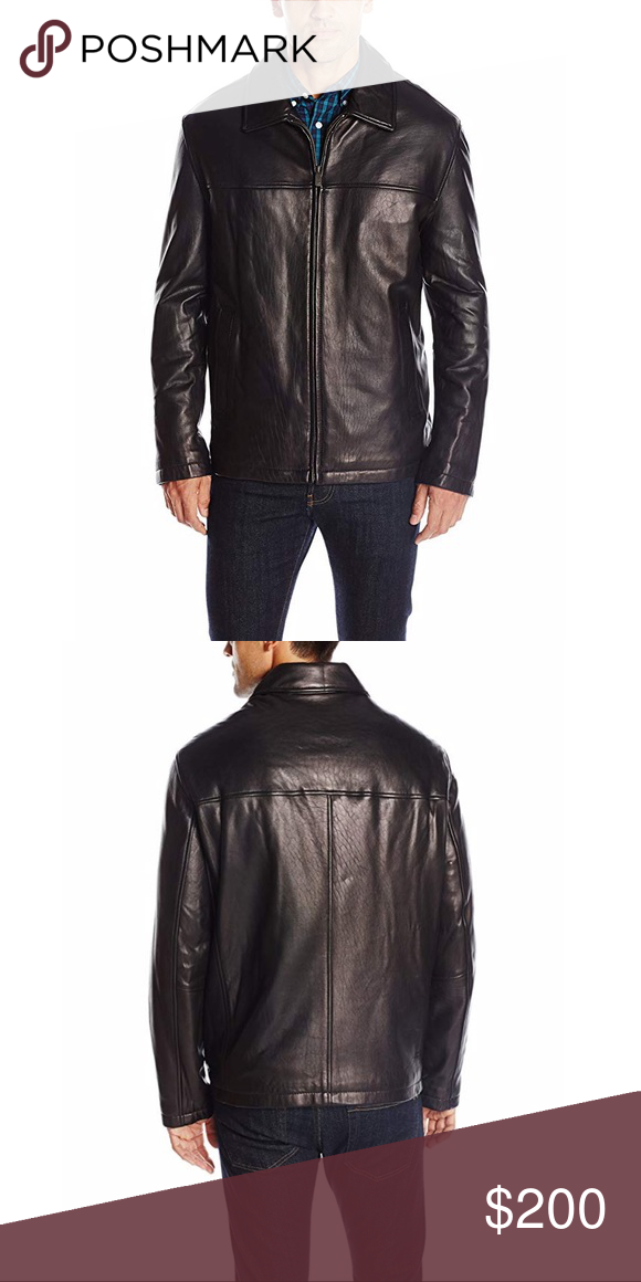 Dockers Leather Jacket in 2020 Clothes design, Leather