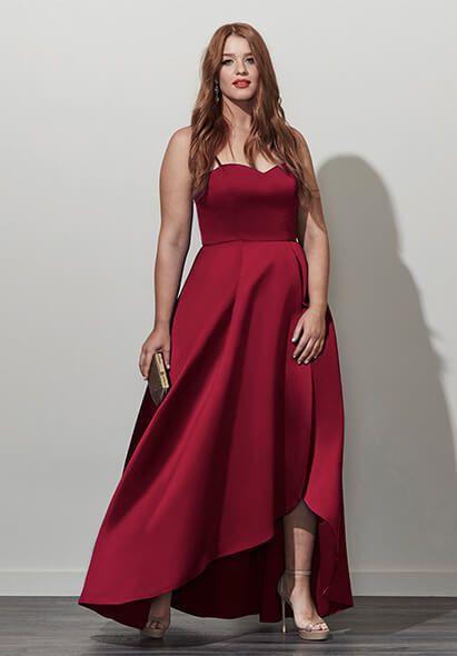 Plus Size Designer Formal   Analynne Dress (plus size ...