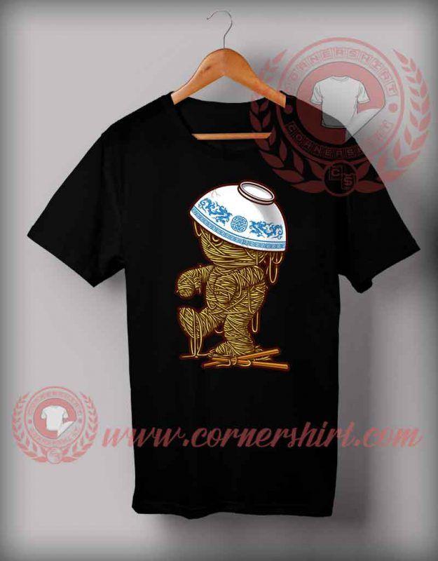 4b14baf9 Cheap Custom Made Halloween Shirts For Adults Mummy Ramen