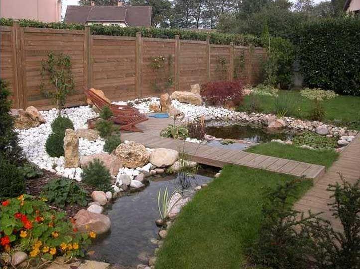 gartenteich mit brucke und bachlauf u2013 reimplica, Garten und bauen - bilder gartenteiche mit bachlauf