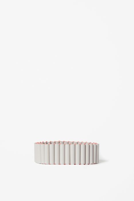 Matte tubes bracelet