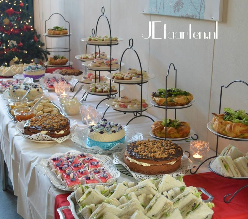 Hightea For Volunteers At An Elderly House High Tea Party High