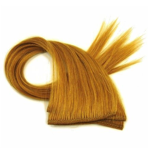 """14-16"""""""" ECW Human Hair Wefts by the Foot, Topaz"""