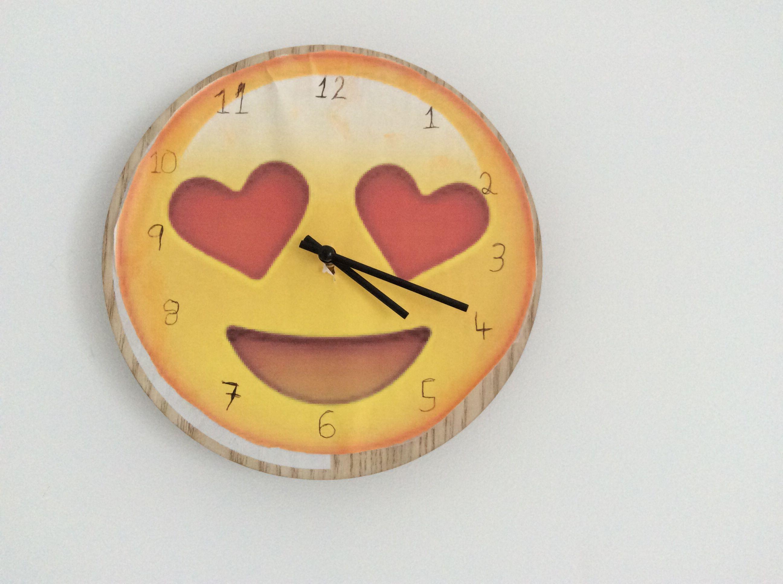 Diy Emoji Clock