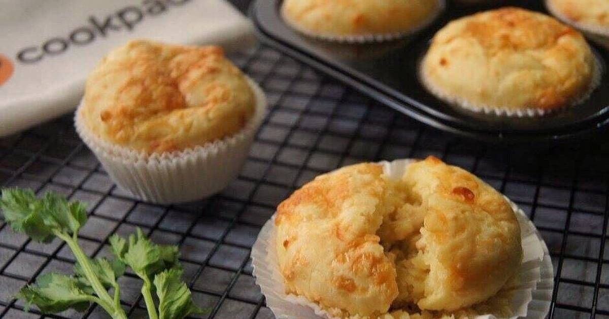 Resep Muffin Ayam Keju Pr Muffin Oleh Opibun Resep Makanan Keju Makanan Dan Minuman
