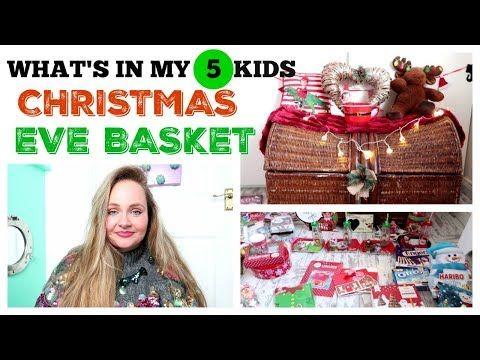 CHRISTMAS EVE BASKET 2018 / BUDGET XMAS EVE BOX IDEAS ...