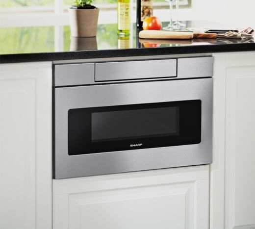 Smd3070as Sharp 30 Microwave Drawer Oven With Hidden Control
