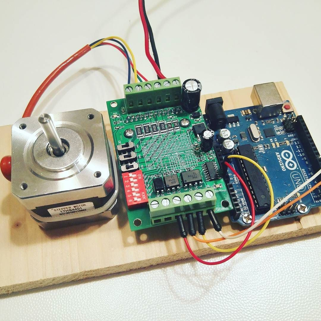 New toys nema 17 stepper motor tb6560 controller and for Arduino with stepper motor