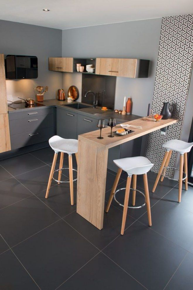 Les plus jolies cuisines ouvertes pour optimiser son intérieur - #cuisines #interieur #jolies #les #optimiser #ouvertes #pour #son #wohnungküche