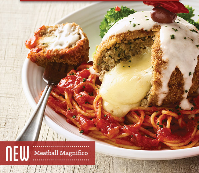 Olive Garden Meatball Magnifico Dinner Special
