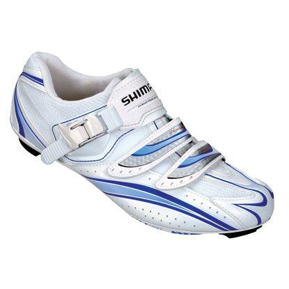 Shimano Women S Sh Wr61 Road Shoes White 44 Ys Wr61 Wh P Road Cycling Shoes Cycling Shoes Women Road Bike Shoes