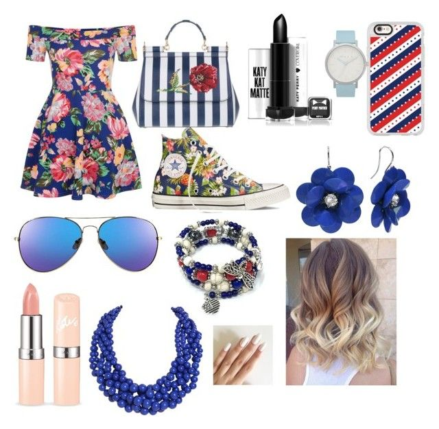 """yami"" by almodovaryamilis on Polyvore featuring New Look, Converse, Dolce&Gabbana, Casetify, The Horse and Humble Chic"