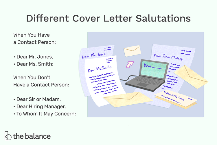 How to Choose the Right Greeting for Your Cover Letter in