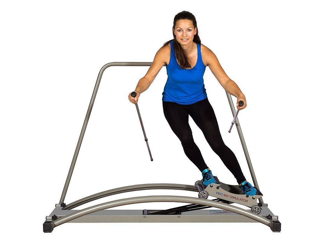 Gym Cardio Equipment Ski Exercise Machine | Skiing workout ...